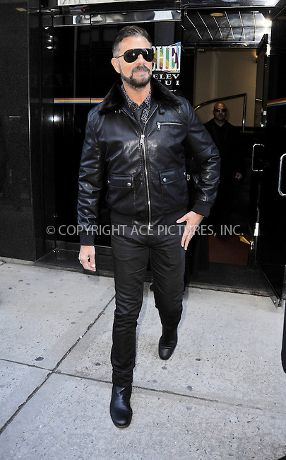 WWW.ACEPIXS.COM<br /> <br /> January 20 2015, New York City<br /> <br /> Lorenzo Lamas made an appearance at the 'Wendy Williams Show' on January 20 2015 in New York City.<br /> <br /> <br /> Please byline: Curtis Means/ACE Pictures<br /> <br /> ACE Pictures, Inc.<br /> www.acepixs.com, Email: info@acepixs.com<br /> Tel: 646 769 0430