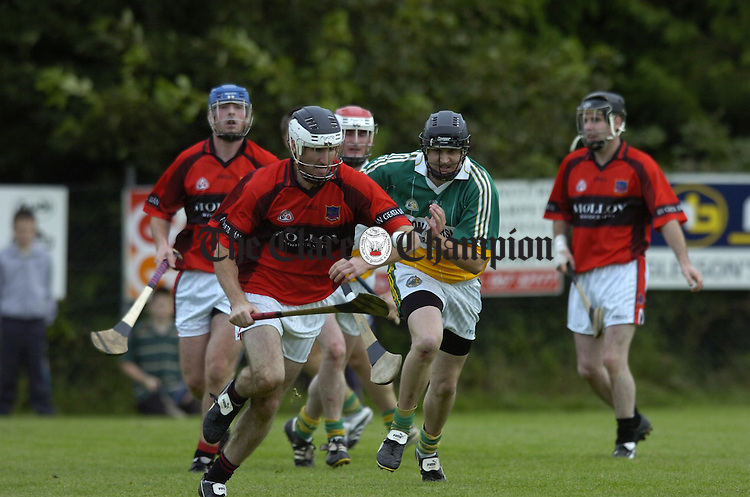 Intermediate Hurling Whitegate v Broadford at Scariff.Pic Arthur Ellis.