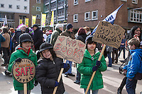 Coventry Against The Cuts, Demo 21st Feb 2015