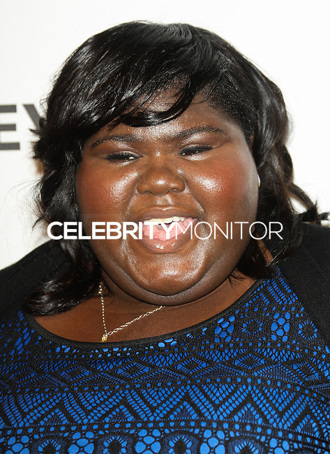 """HOLLYWOOD, LOS ANGELES, CA, USA - MARCH 28: Gabourey Sidibe at the 2014 PaleyFest - """"American Horror Story"""" held at the Dolby Theatre on March 28, 2014 in Hollywood, Los Angeles, California, United States. (Photo by Celebrity Monitor)"""