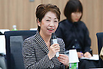 Kazuko Ishikawa, <br /> JANUARY 17, 2017 : <br /> 1st Mascot Selection Review Conference for the Tokyo 2020 Olympic and Paralympic Games in Tokyo. <br /> (Photo by Sho Tamura/AFLO)