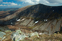Creag an Leth-choin, the Lurcher's Crag, and the Lairige Ghru from Sron na Lairige, Cairngorm National Park