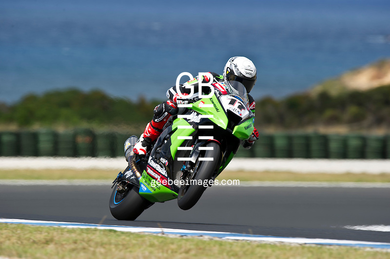 2012 Superbike World Championship, Test, 20-21 February 2012, Phillip Island, Australia, Joan Lascorz, Kawasaki