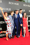 LOS ANGELES - AUG 16: Mark Burnett, Roma Downey, sons, daughter at the premiere of Ben-Hur at the TCL Chinese Theatre IMAX on August 16, 2016 in Los Angeles, California