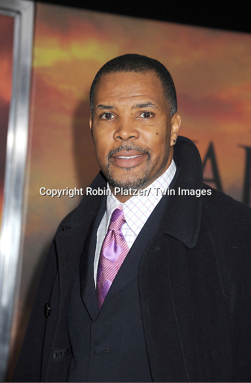 """Eriq La Salle attends the world premiere of """"War Horse"""" on December 4, 2011 at Avery Fisher Hall in New York City."""
