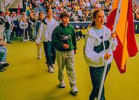 Netherlands, November 1997, NIKE junior tour, Rafael Nadal (ESP) team presentation