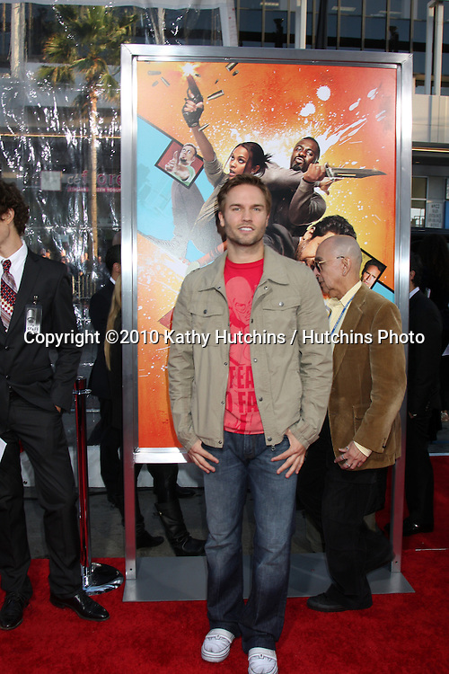 "Scott Porter.arrives at ""The Losers"" Premiere.Grauman's Chinese Theater.Los Angeles, CA.April 20, 2010.©2010 Kathy Hutchins / Hutchins Photo..."
