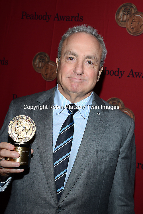 Lorne Michaels attends the 72nd Annual Peabody Awards on May 20, 2013 at the Waldorf=Astoria Hotel in New York City.