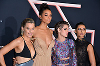 "LOS ANGELES, USA. November 12, 2019: Elizabeth Banks, Ella Balinska, Kristen Stewart & Naomi Scott at the world premiere of ""Charlie's Angels"" at the Regency Village Theatre.<br /> Picture: Paul Smith/Featureflash"