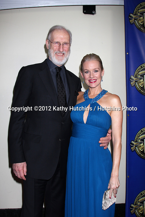 LOS ANGELES - FEB 12:  James Cromwell, Penelope Ann Miller at the Press Area of the 2012 American Society of Cinematographers Awards at the Grand Ballroom, Hollywood & Highland on February 12, 2012 in Los Angeles, CA
