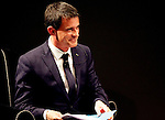French Prime Minister Manuel Valls attends the Festival of Economics in Trento, on May 30, 2015.