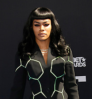 LOS ANGELES, CALIFORNIA - JUNE 23: Teyana Taylor attends the 2019 BET Awards on June 23, 2019 in Los Angeles, California. Photo: imageSPACE/MediaPunch