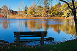 Morning on Shawmee Pond, Sandwich, Cape Cod, MA, USA