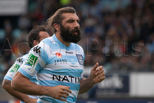 16.10.2010 Heineken Cup Rugby from France Racing Metro 92 v Clermont. Picture shows Sebastien Chabal (Racing Metro 92).