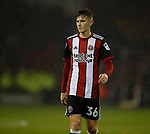David Brooks of Sheffield Utd during the Championship match at the Bramall Lane Stadium, Sheffield. Picture date 27th September 2017. Picture credit should read: Simon Bellis/Sportimage