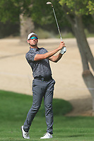 Alexander Bjork (SWE) on the 3rd during Round 1 of the Omega Dubai Desert Classic, Emirates Golf Club, Dubai,  United Arab Emirates. 24/01/2019<br /> Picture: Golffile | Thos Caffrey<br /> <br /> <br /> All photo usage must carry mandatory copyright credit (&copy; Golffile | Thos Caffrey)