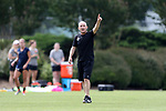 CARY, NC - MAY 18: Head coach Paul Riley. The North Carolina Courage held a training session on May 18, 2017, at WakeMed Soccer Park Field 5 in Cary, NC.