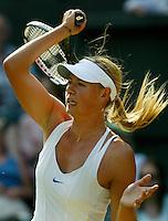 1-7-06,England, London, Wimbledon, fourth round match,  Maria Sharapova