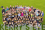 Budding Killarney footballers who attended the Dr Crokes GAA Easter football skills camp on Thursday