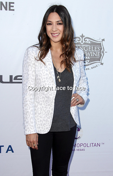 LOS ANGELES, CA - AUGUST 24: Michelle Branch arrives at the 3rd Annual Los Angeles Food &amp; Wine Festival on August 24, 2013 in Los Angeles, California.<br />
