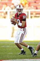 18 November 2006: Tavita Pritchard during Stanford's 30-7 loss to Oregon State at Stanford Stadium in Stanford, CA.