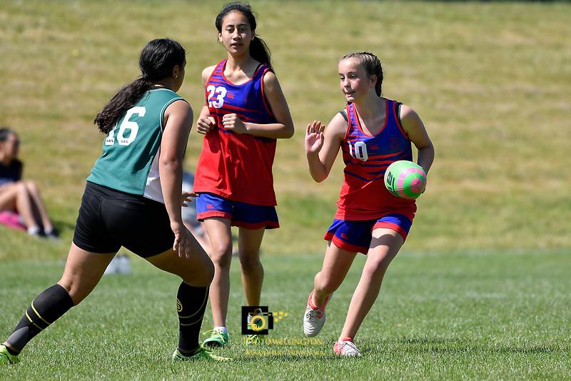 Touch &ndash; CSW Junior Tournament at Fraser Park, Lower Hutt, New Zealand on Thursday 15 November 2018. <br /> Photo by Masanori Udagawa. <br /> www.photowellington.photoshelter.com