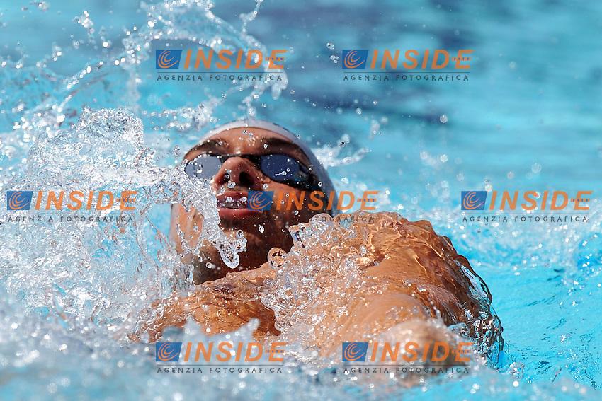 Luca Marin<br /> 400m Medly Men<br /> Roma 14/6/2013 Piscina del Foro Italico <br /> Nuoto 50mo trofeo Settecolli<br /> Settecolli 50th International swimming trophy <br /> Foto Antonietta Baldassarre Insidefoto