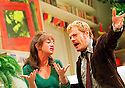 Eddie Izzard  joins the cast of A Day in the Death of Joe Egg including Victoria Hamilton  opens at the Comedy Theatre on 11/12/01 pic Geraint Lewis