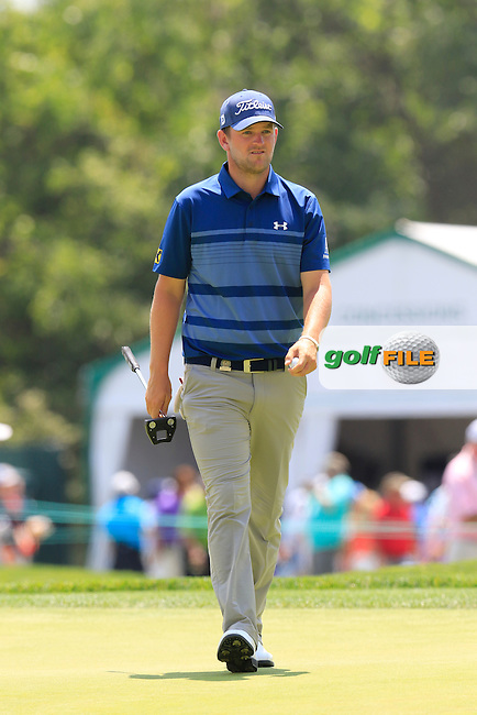 Bernd Wiesberger (AUT) on the 9th green during Wednesday's Practice Day of the 2016 U.S. Open Championship held at Oakmont Country Club, Oakmont, Pittsburgh, Pennsylvania, United States of America. 15th June 2016.<br /> Picture: Eoin Clarke | Golffile<br /> <br /> <br /> All photos usage must carry mandatory copyright credit (&copy; Golffile | Eoin Clarke)