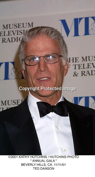 "©2001 KATHY HUTCHINS / HUTCHINS PHOTO."" ANNUAL GALA "".BEVERLY HILLS, CA. 11/11/01.TED DANSON"