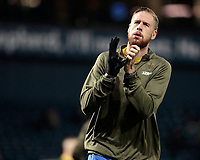Leeds United's Pontus Jansson during the pre-match warm-up <br /> <br /> Photographer David Shipman/CameraSport<br /> <br /> The EFL Sky Bet Championship - West Bromwich Albion v Leeds United - Saturday 10th November 2018 - The Hawthorns - West Bromwich<br /> <br /> World Copyright © 2018 CameraSport. All rights reserved. 43 Linden Ave. Countesthorpe. Leicester. England. LE8 5PG - Tel: +44 (0) 116 277 4147 - admin@camerasport.com - www.camerasport.com