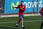 Spainsh Dani Carvajal during the training of the spanish national football team in the city of football of Las Rozas in Madrid, Spain. November 09, 2016. (ALTERPHOTOS/Rodrigo Jimenez)