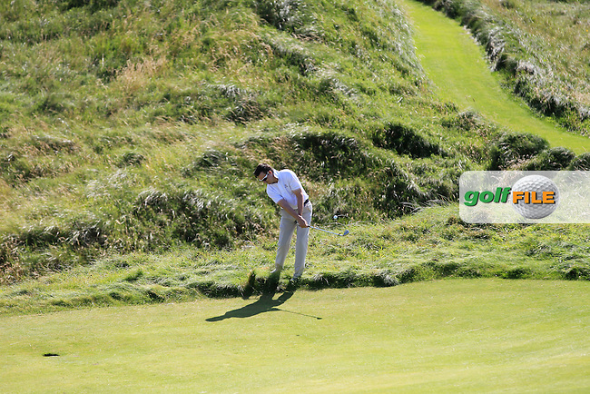 Kenny McGarry (Castlemartyr) on the 8th during Round 1 of The South of Ireland in Lahinch Golf Club on Saturday 26th July 2014.<br /> Picture:  Thos Caffrey / www.golffile.ie