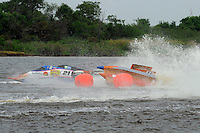 Frame 6: Megan Becan, (#77) rolls over in turn 1 midway through the final heat. She was no injured in the accident. (SST-45 class)