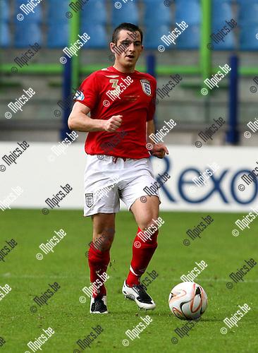 UEFA U21 Czech Republic - England 11-06-2007..Leighton Baines (England)