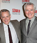 Director Doug Hughes and Playwright John Patrick Shanley attend the 'Outside Mullinger' Broadway opening night after party at The Copacabana on January 23, 2014 in New York City.