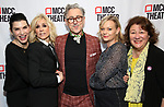 """Juliana Margulies, Judith Light, Alan Cumming, Samantha Mathis and Margo Martindale attends MCC Theater's Inaugural All-Star  """"Let's Play! Celebrity Game Night"""" at the Garage on November 03, 2019 in New York City."""