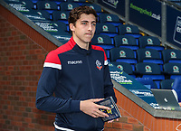 Bolton Wanderers' Joe Muscatt pictured before the match <br /> <br /> Photographer Andrew Kearns/CameraSport<br /> <br /> The EFL Sky Bet Championship - Blackburn Rovers v Bolton Wanderers - Monday 22nd April 2019 - Ewood Park - Blackburn<br /> <br /> World Copyright © 2019 CameraSport. All rights reserved. 43 Linden Ave. Countesthorpe. Leicester. England. LE8 5PG - Tel: +44 (0) 116 277 4147 - admin@camerasport.com - www.camerasport.com