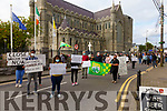 Cahersiveen locals and residents from the Skellig Star Direct Provision Centre came out in numbers on Tuesday evening urging the Government to 'Act Now' before the situation in Cahersiveen get worse.