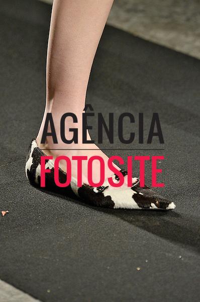 Milao, Italia &ndash; 02/2014 - Desfile de N 21 durante a Semana de moda de Milao - Inverno 2014. <br /> Foto: FOTOSITE