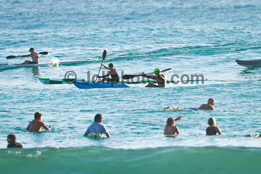 BURLEIGH, Queensland/Australia (Saturday, 21 January, 2012) – Free surfing at Burleigh Heads today..Photo: joliphotos.com