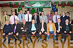 Castleisland AFC former players from the 70's and 80's at the Castleisland AFC social in the River Island Hotel on Saturday night front row l-r: Georgie O'Callaghan, Jim O'Connor, James O'Sullivan, Des McCarthy, John O'Connor, Phil O'Connell, Tommy Connor, Michael Conway (representing his son Mike Tappy Conway RIP). Back row: John Lordon, Tom McCarthy, Martin Tigue, Peter Luddy (reoresenting his father the late PJ Luddy), Denie Pele Barry, Tom Lynch, John Begley, John O'Donoghue and Mossie McGaley