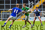 Podge O'Connor Legion sidesteps BJ Keane KOR tackle during their SFC clash in Fitzgerald Stadium on Sunday