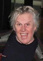 NEW YORK, NY - NOVEMBER 14:  Actor Gary Busey spotted leaving 'Good Day New York' where he promoted the Off-Broadway show 'Perfect Crime'  in New York, New York on November 14, 2016.  Photo Credit: Rainmaker Photo/MediaPunch
