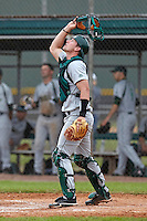 USF Bulls catcher Andrew Longley #14 during a game against the Ohio State Buckeyes at the Big Ten/Big East Challenge at Walter Fuller Complex on February 17, 2012 in St. Petersburg, Florida.  (Mike Janes/Four Seam Images)