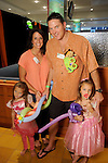 Jody and Marcus Martin with Taylor and Lauren at the Little Galleria Halloween Spooktacular presented by MD Anderson Children's Cancer Hospital at The Galleria Sunday Oct. 30,2016.(Dave Rossman photo)