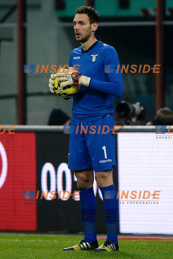 Berisha Etrit Lazio<br /> Milano 27-01-2015 Stadio Giuseppe Meazza - Football Calcio Coppa Italia Milan - Lazio. Foto Giuseppe Celeste / Insidefoto