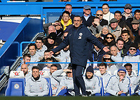Chelsea Manager, Maurizio Sarri during Chelsea vs Wolverhampton Wanderers, Premier League Football at Stamford Bridge on 10th March 2019