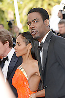 "Jada Pinkett Smith and Chris Rock attending the ""Madagascar III"" Premiere during the 65th annual International Cannes Film Festival in Cannes, France, 18.05.2012..Credit: Timm/face to face/MediaPunch Inc. ***FOR USA ONLY***"