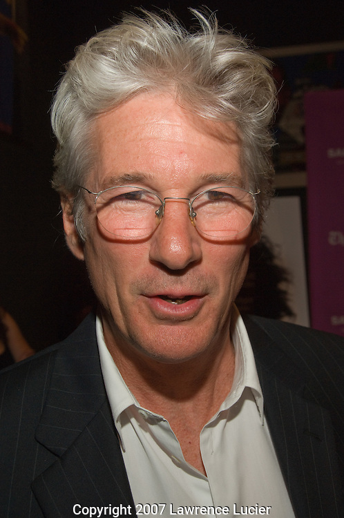 "Actor Richard Gere arrives at the screening of ""I'm Not There"" at the New York Film Festival at the Frederick P. Rose Hall in New York City.  (Pictured : Richard Gere)."